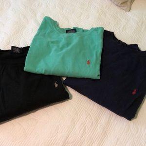 Polo Ralph Lauren t shirt. Navy BLUE